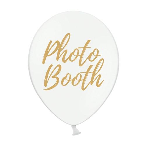 Ballonger Photo Booth Hvit