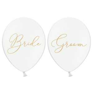 Bride & Groom Ballonger