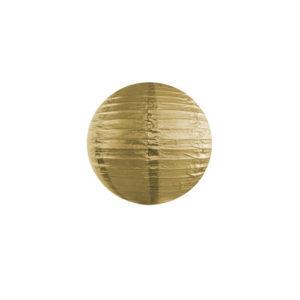Papirlanterne Gull 25cm