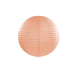 Papirlanterne Peach 35cm