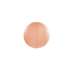 Papirlanterne Peach 20cm