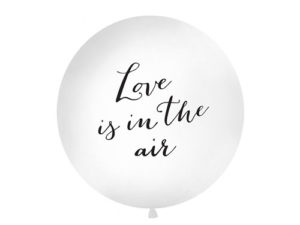 Gigantisk Love is in the air ballong