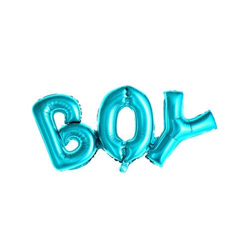 Folieballong BOY Blå