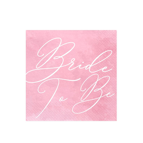 Bride to Be Servietter