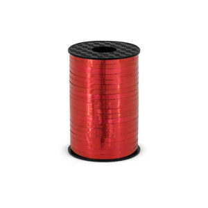 Ballongbånd Metallisk Rød