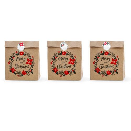 Store Gaveposer Merry little Christmas