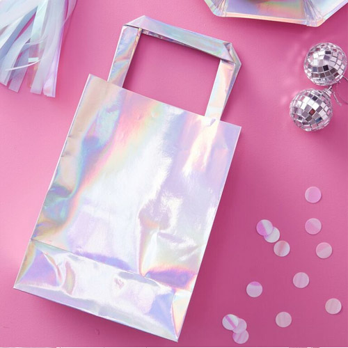 Iridescent party bag 1 honeyoak