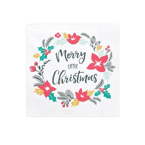 Merry Little Christmas Servietter