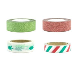Dekorativ Tape i julefarger