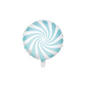 Candyballong Lys Blå