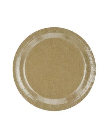 Brown Craft Tallerkener