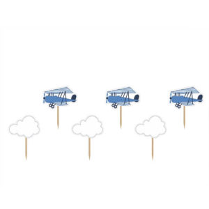 Little Plane Cupcake toppers
