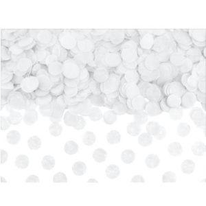 Hvit Confetti