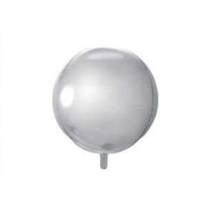 Kuleballong Sølv 40cm