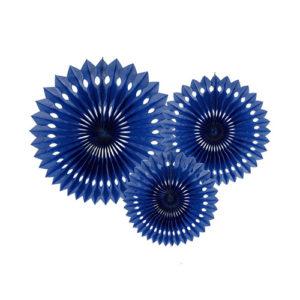 Marineblå Papirvifter