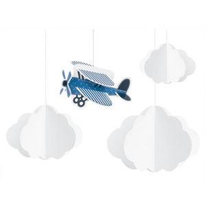 Little Plane Hengende Dekor