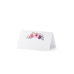 Bordkort Floral
