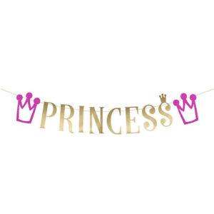 Princess Vimpelrekke Rosa og Gull