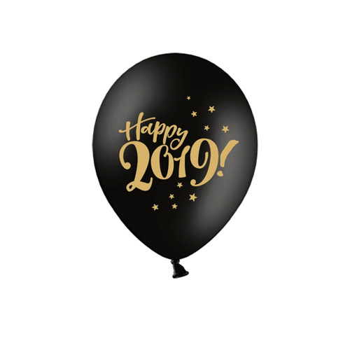 Sorte Happy 2019 Ballonger