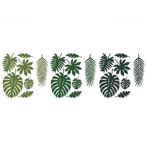 Tropical Leaves Dekorblader