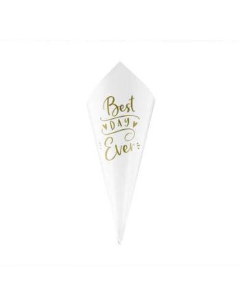 Confetti Cones Best Day Ever