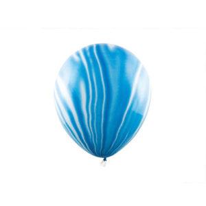 Marble Ballonger Blå