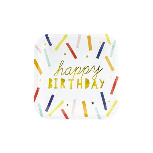 Happy Birthday Tallerkener