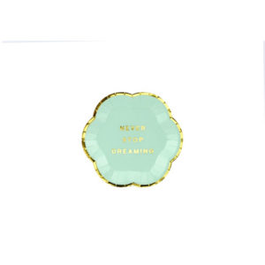 Mini Tallerken Mint