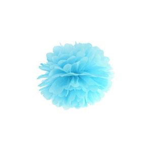 Pom Pom Skyblå 25 cm