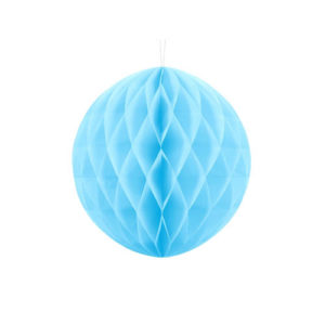 Honeycomb Skyblå 30 cm