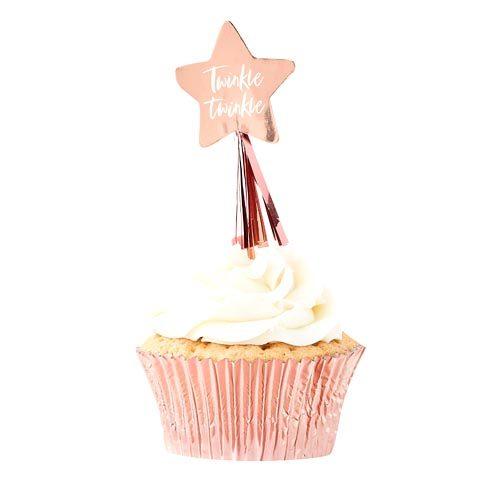 Cupcake Toppers Twinkle Twinkle