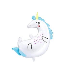 Unicorn Ballong 75cm