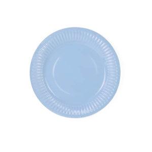 Blå Tallerken 18cm