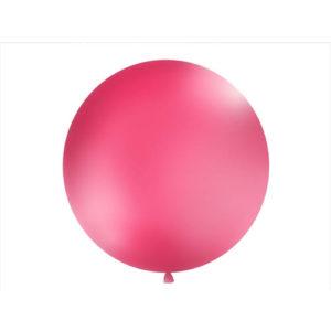 Gigantisk Rund Ballong Fuchsia