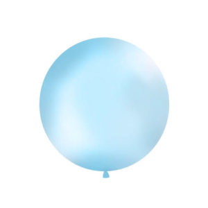 Gigantisk Rund Ballong Lys blå