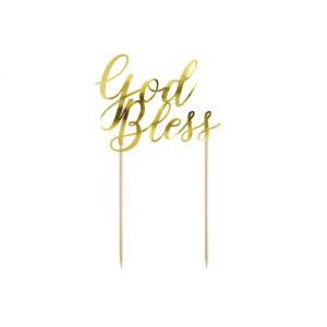 God Bless Kaketopp i Gull
