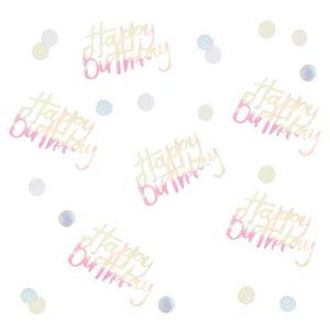 Happy Birthday Bordkonfetti