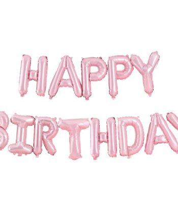 Happy Birthday Ballongrekke