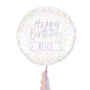 Happy Birthday Folieballong