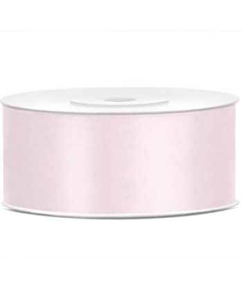 Dus Rosa Sateng Dekorbånd 25mm