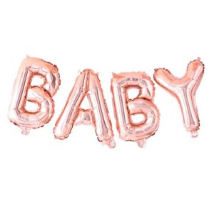 BABY Ballongrekke Rose Gold