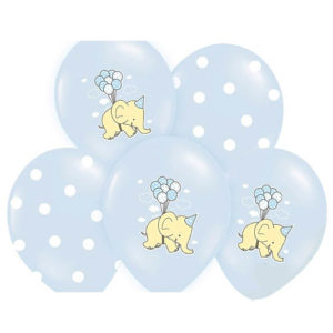 Dus blå Elefantballonger