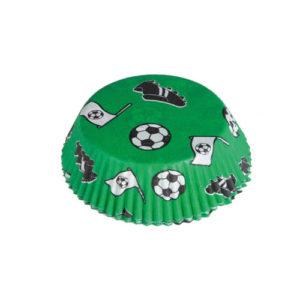 Cupcakeformer med Fotballmotiv