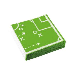 Servietter med Fotballmotiv
