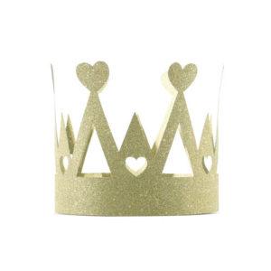 Prinsessekrone Glittergull