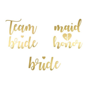 Team Bride Tatoveringer Gull