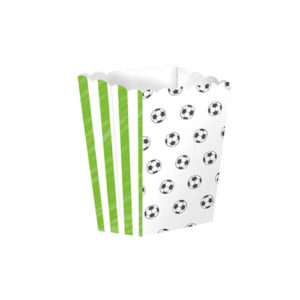 Popcornbokser med Fotballmotiv