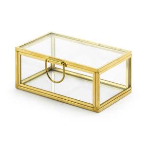 Glassboks for ringer