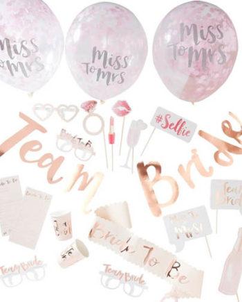 Team Bride - Party in a Box