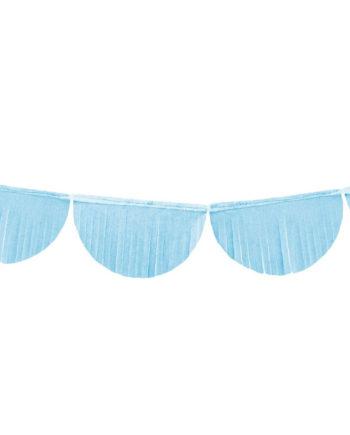 Frynsegirlander skyblå